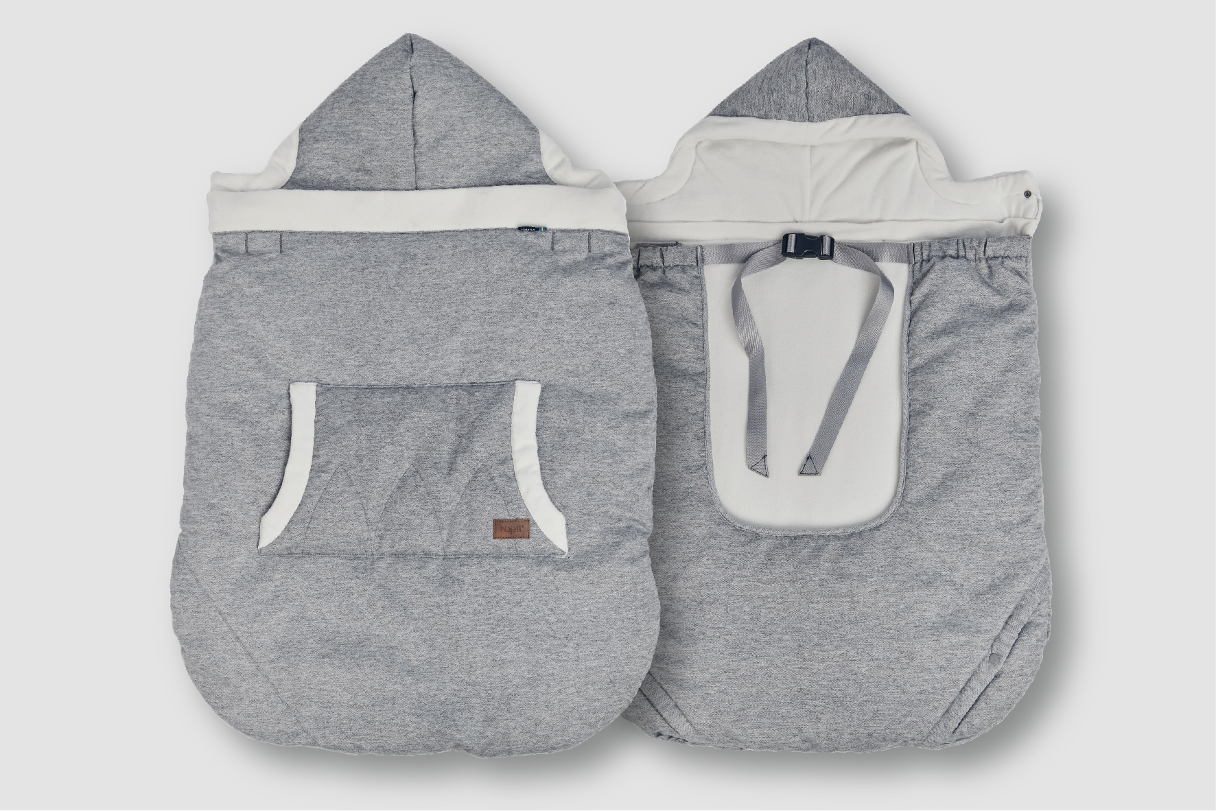 Najell Baby Carrier Warmer front and back