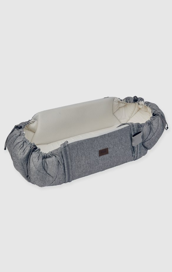 Najell babynest SleepCarrier - Morning Grey